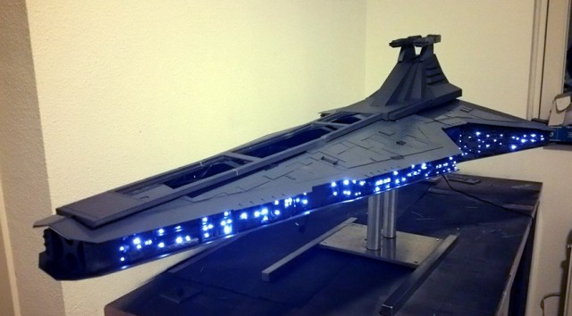 The Force is with this amazing Star Destroyer PC chassis